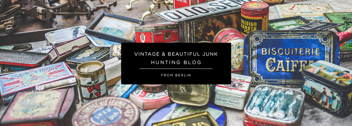 Vintage shopping guide blog from Berlin
